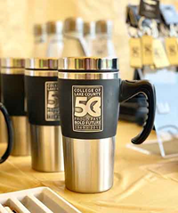 50th Anniversary Travel Mug