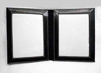 50th Anniversary Leather Picture Frame