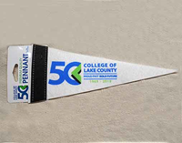 CLC 50th Anniversary Small Pennant