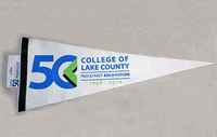 CLC 50th Anniversary Large Pennant