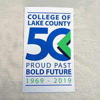 CLC 50th Anniversary Car Magnet