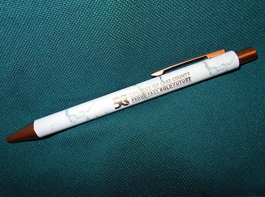 CLC 50th Anniversary Marble and Gold Tone Pen (SKU 1051909751)