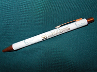 CLC 50th Anniversary Marble and Gold Tone Pen