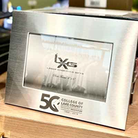 CLC 50th Anniversary Aluminum Picture Frame